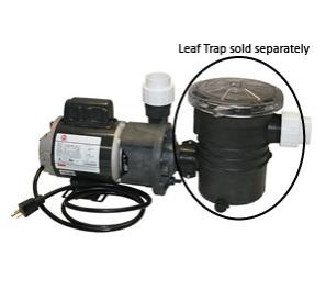 "Wlim Corp Aqua Star Pump 1/8hp OD (1-1/2"" Inlet & Outlet)"