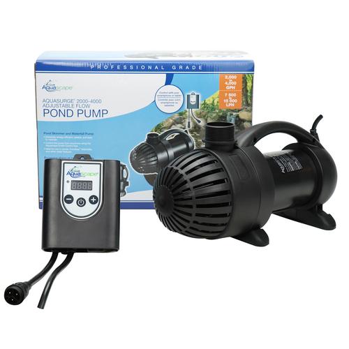 Aquascape AquaSurge PRO 4000-8000 Adjustable Flow Pump