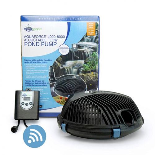 Aquascape AquaForce 4000-8000 Adjustable Solids-Handling Pond Pump