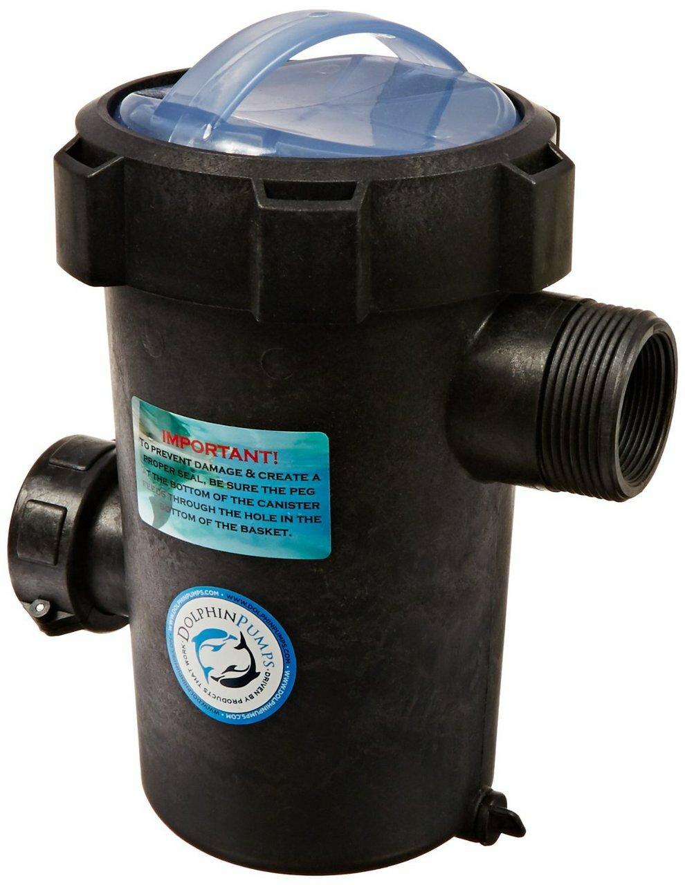 Dolphin Pumps EZ Priming Pot - 2 inch