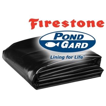 25' x 25' Firestone PondGard 45 mil EPDM Pond Liner
