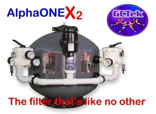 GCTek AquaBead X2 Low Head 2 LH  Pond Filter