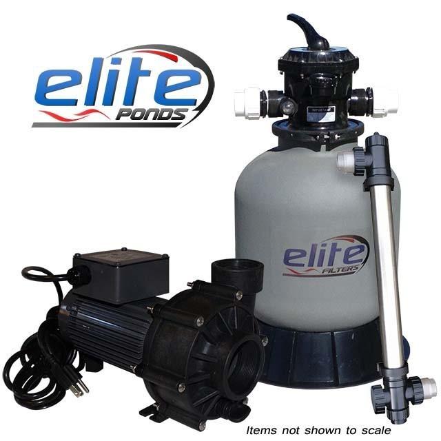 Elite Pumps Optimus III 2000 Filter Pump UV Package