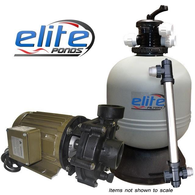 Elite Pumps Optimus III 4000 Filter Pump UV Package
