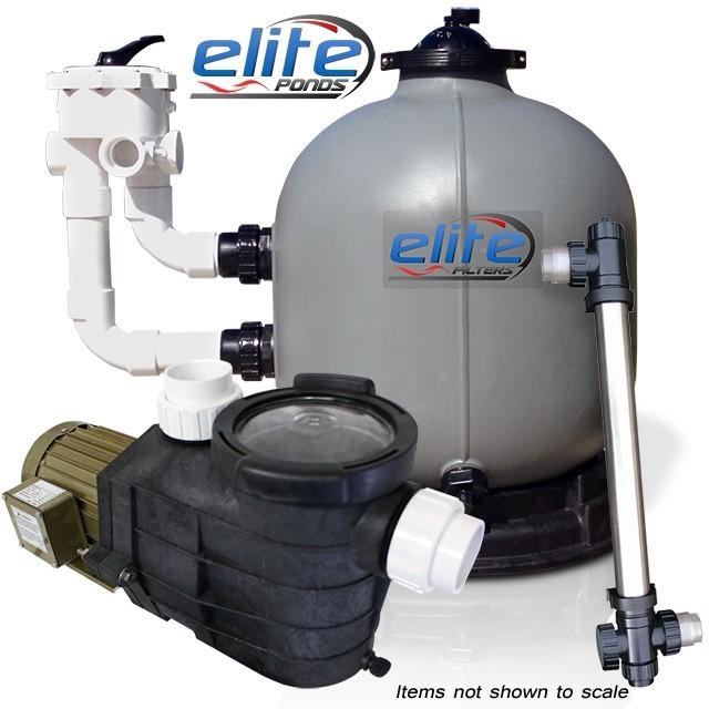 Elite Pumps Optimus III 10000 Filter Pump UV Package