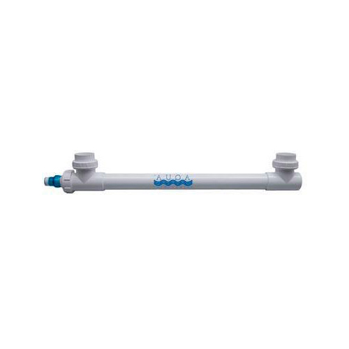 "Aqua Ultraviolet Classic 40 Watt UV Sterilizer - 3/4"" White w/ Wiper"
