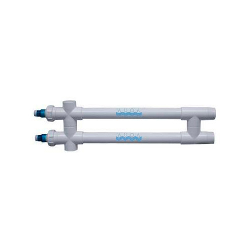 """Aqua Ultraviolet Classic 80 Watt UV Sterilizer 2"""" White  Wiper 2/L NEMA Transformer 220V/60Hz"""