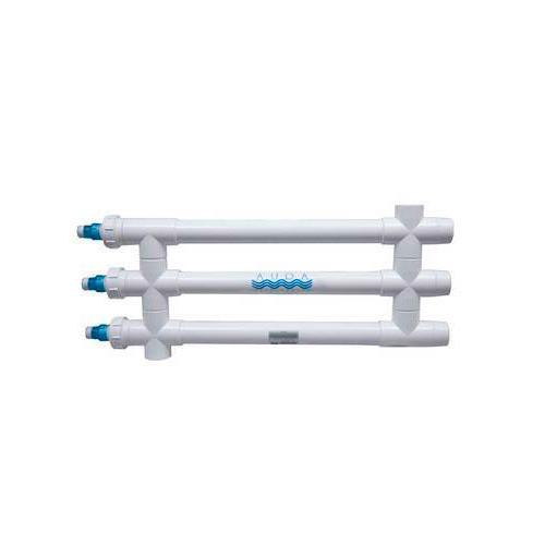 "Aqua Ultraviolet Classic 120 Watt UV Sterilizer 3"" White Wiper 3/L Inline Transformer 120V/60Hz"
