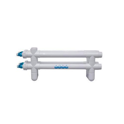 "Aqua Ultraviolet Classic 160 Watt UV Sterilizer 2"" White 4/L  4/Inline Tranformers 220V/60Hz"
