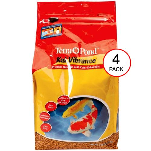 Tetra Pond Koi Vibrance - 5.18 lbs. (4 Pack)