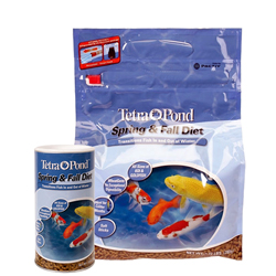 Tetra Pond Spring & Fall Diet Wheat Germ Fish Food
