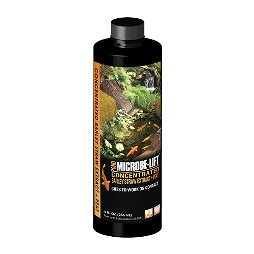 Microbe-Lift Concentrated Barley Straw Extract Plus Peat - 8 oz.
