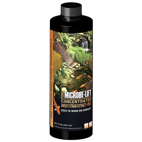Microbe-Lift Concentrated Barley Straw Extract Plus Peat - 32 oz.