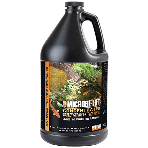 Microbe-Lift Concentrated Barley Straw Extract Plus Peat - 1 Gallon