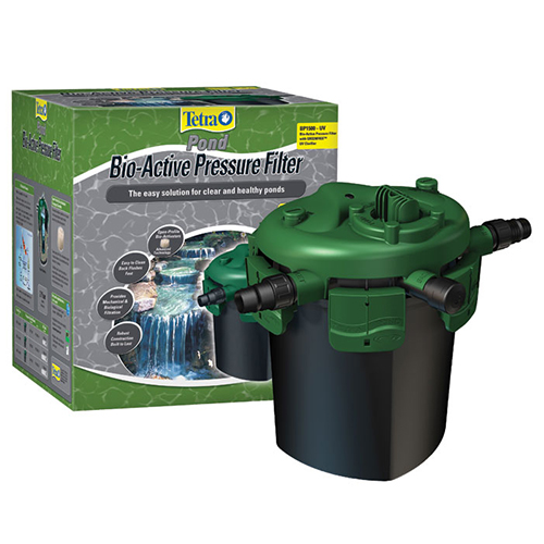 Tetra Pond Bio-Active 1500 Pressurized Filter with UV