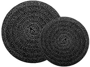 """Matala Black Roll Filter Media - 18"""" Diameter"""