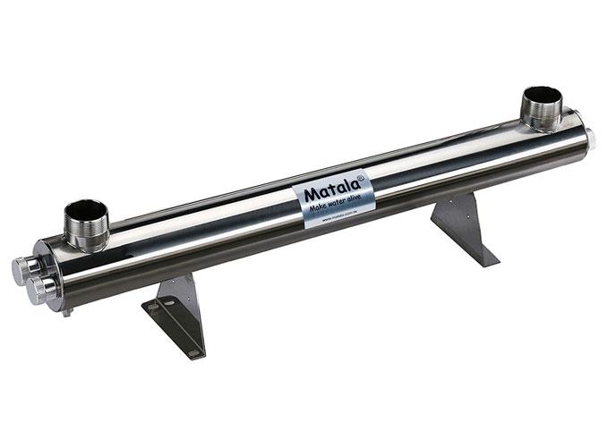 "Matala Spectrum 150 Watt Stainless Steel UV-C Sterilizer -2"""