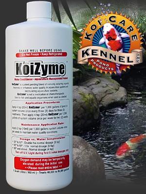 Koi Care Kennel KoiZyme - 1 Gallon (128 oz.)