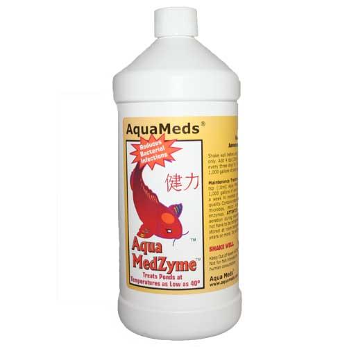 Aqua Meds Aqua MedZyme Liquid - 1 Quart (32 oz.)