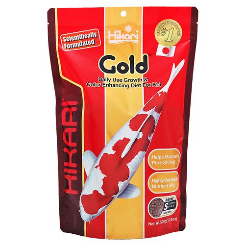 Hikari Gold Koi Fish Food - 17.6 oz. (Small Pellets)