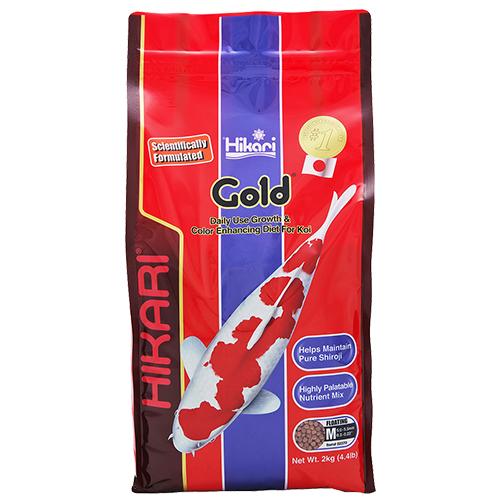 Hikari Gold Koi Fish Food - 4.4 lbs. (Medium Pellets)