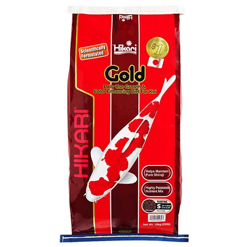 Hikari Gold Koi Fish Food - 22 lbs. (Large Pellets)