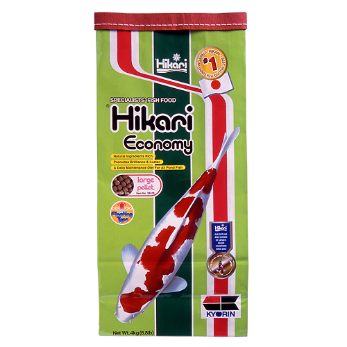 Hikari Economy Koi Fish Food - 44 lbs. (Medium Pellets)