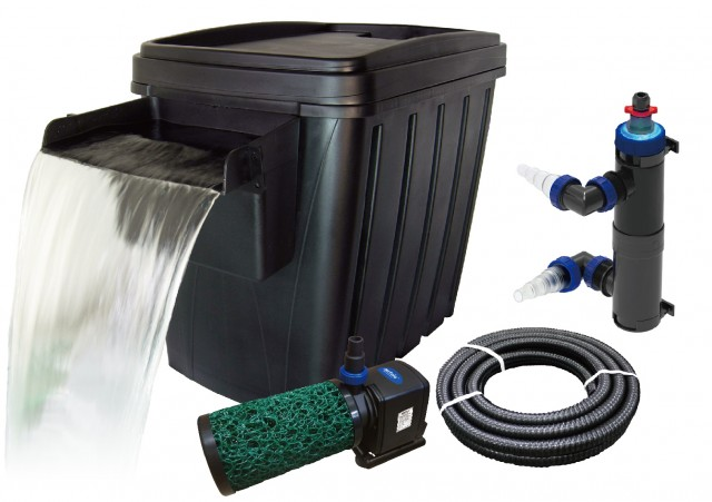 Matala BioSteps II Premium Filter Kit with 16 Watt UV-C with Waterfall