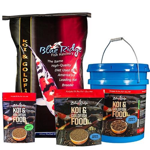 Blue Ridge Growth Koi Fish Food