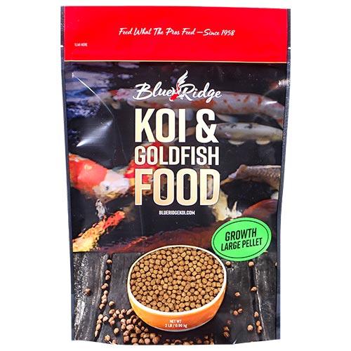 Blue Ridge Growth Koi Fish Food - 2 lbs. (Large Pellet)