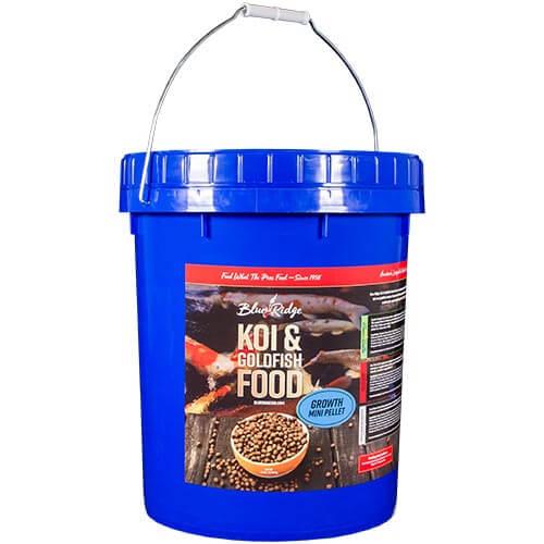 Blue Ridge Growth Koi Fish Food - 14 lbs. (Mini Pellet)