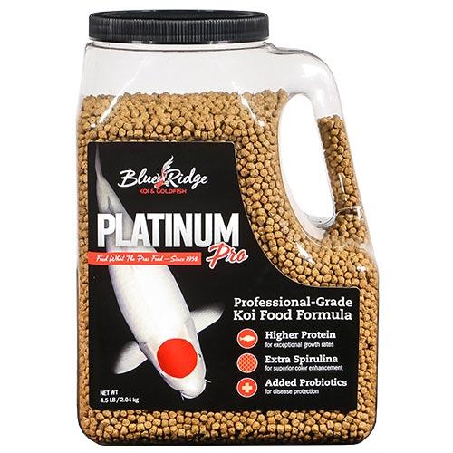 Blue Ridge Platinum Pro Koi Fish Food - 4.5 lbs.
