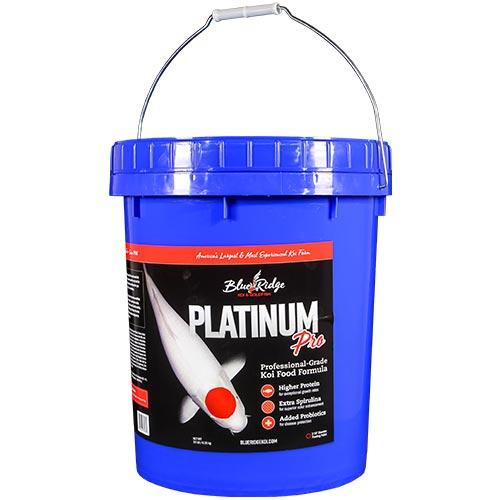 Blue Ridge Platinum Pro Koi Fish Food - 14 lbs.