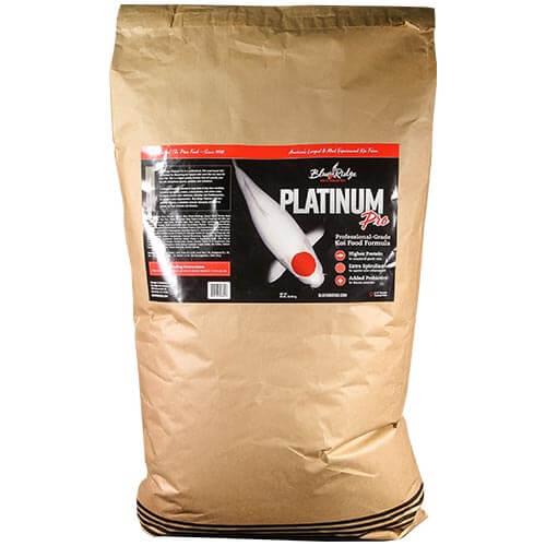 Blue Ridge Platinum Pro Koi Fish Food - 50 lbs.