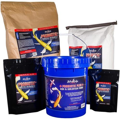 Blue Ridge Probiotic Plus Koi Fish Food