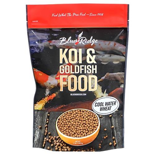 Blue Ridge Cool Water Koi Fish Food  - 6 lbs. (3 x 2 lbs.) (Large Pellet)