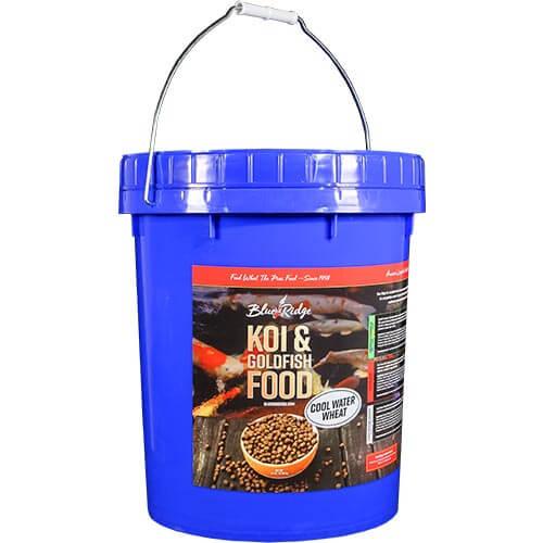 Blue Ridge Cool Water Koi Fish Food  - 14 lbs. (Large Pellet)