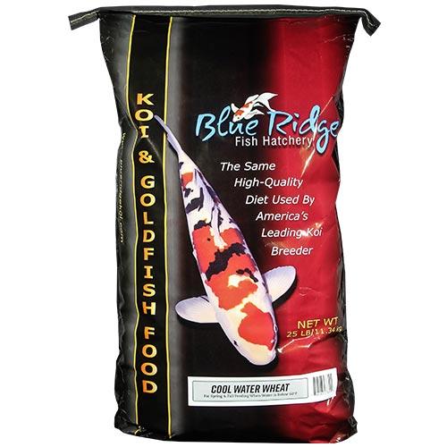 Blue Ridge Cool Water Koi Fish Food  - 25 lbs. (Large Pellet)
