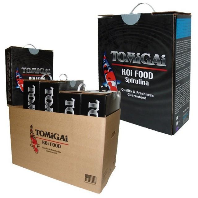 TOMiGAi Spirulina Koi Fish Food - 30 lbs. (Case)