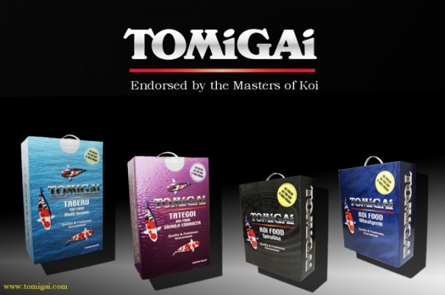 TOMiGAi Tomadachi Koi Fish Food - 40 lbs.