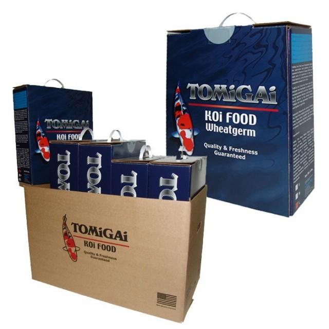 TOMiGAi Wheat Germ Koi Fish Food - 30 lbs. (Case)